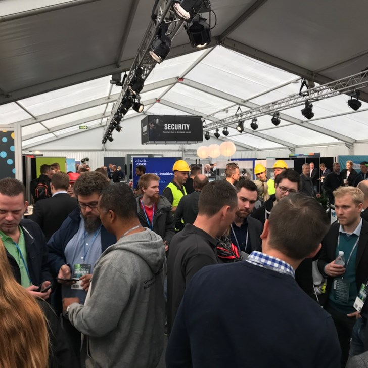 it expo 2018 security område